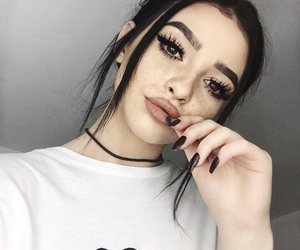 makeup, kelsey, and tumblr image
