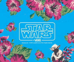 blue, star wars, and vans image