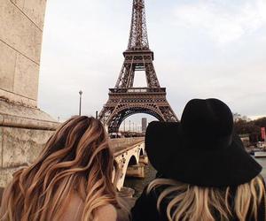 paris, travel, and friends image