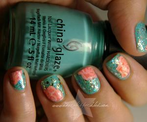 nail art and uñas bellas image