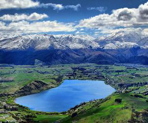 new zealand and lake hayes image