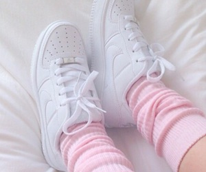 pastel, pink, and sneakers image