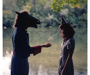 horse and birthday image