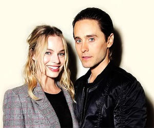 jared leto, margot robbie, and joker image