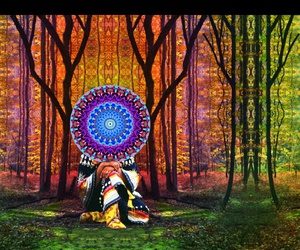 psychedelique, art, and larry carlson image