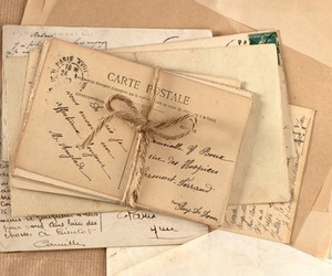 vintage and letters image