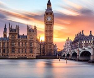 city, london, and art image