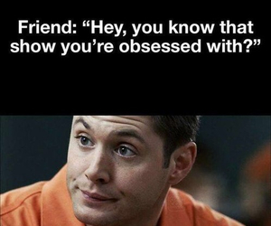 supernatural, funny, and show image