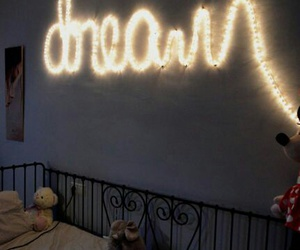 Dream, light, and bedroom image