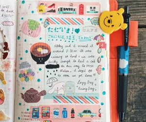 diary, journal, and Harajuku image