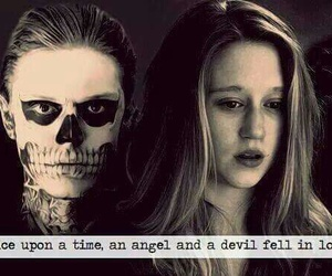 american horror story, angel, and Devil image