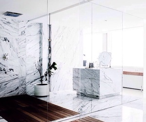 design, interior, and marble image