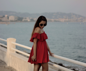 beach, cannes, and fashion blogger image