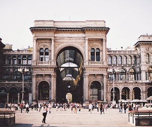 city, milan, and architecture image