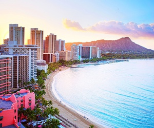 hawaii, beach, and ocean image