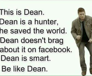 dean winchester, supernatural, and hunter image