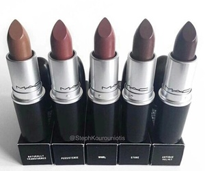 colors, mac, and labiales image