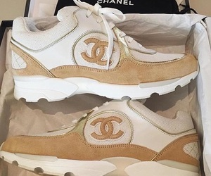 chanel, sneakers, and luxury image