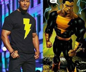 black man, DC, and Dwayne Johnson image