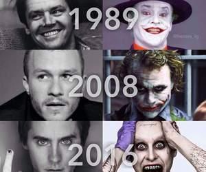 joker, batman, and jared leto image