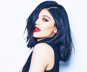kylie jenner, hair, and lips image