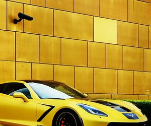 car, Corvette, and luxury image