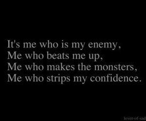 enemy, monster, and quotes image