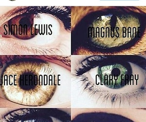 clary fray, etes, and alec lightwood image