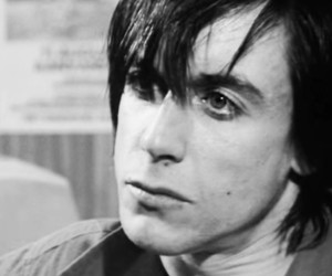 b&w, black and white, and iggy pop image