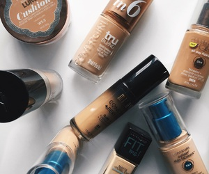 Foundation and makeup image