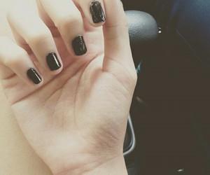 black, minimalist, and tattoo image