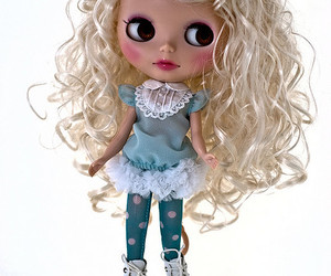 blythe, custom, and doll image