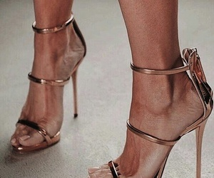 fashion, model, and heels image