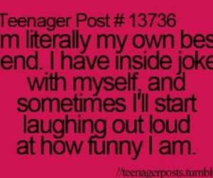 funny, best friends, and teenager post image