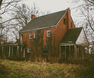 abandoned, derelict, and estate image