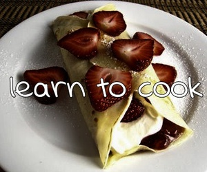 cook, learn, and strawberries image