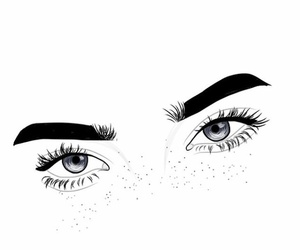 dessin, eyes, and yeux image