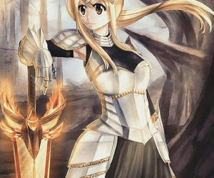 armor, beautiful, and lucy heartfilia image