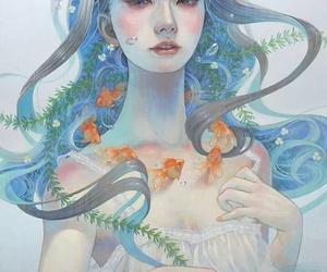 art, beauty, and miho hirano image