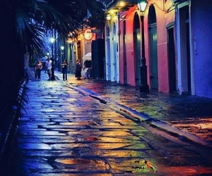 light, new orleans, and night image