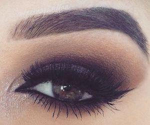 beauty, cat eyes, and eyeliner image