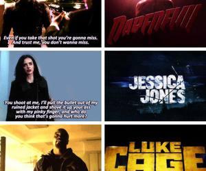 daredevil, Marvel, and jessica jones image