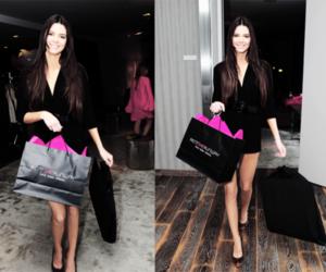 brunette, girl, and kardashian image