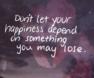 quote, depend, and love image