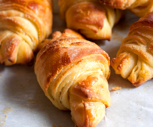 croissant, food, and photography image