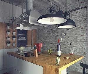 kitchen and loft image