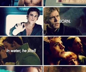 Sam, hunger games, and finnick image
