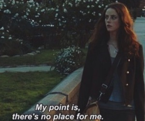 skins, quotes, and sad image