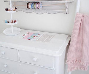 decor, paint, and shabby chic image