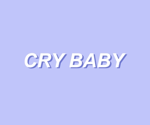 beautiful, cry baby, and indie image